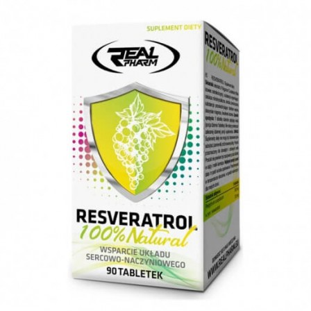 Real Pharm Resveratrol 90 tabs.