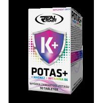 Real Pharm Potassium + Magnesium + B6 90 tab.
