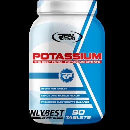 Real Pharm Potassium 90 tabs.