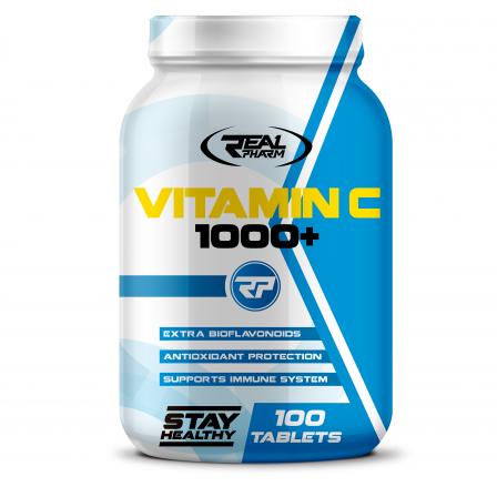 Real Pharm Vitamin C 1000 100 tabs.