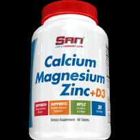 San Calcium Magnesium Zinc + D3 90 tabs.