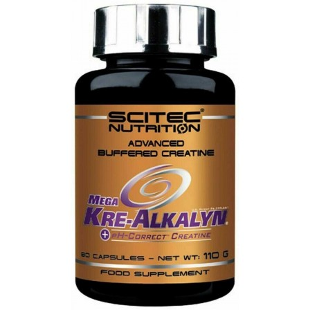 Scitec Nutrition Mega Kre-Alkalyn 80 caps.