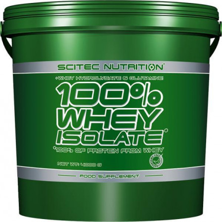 Scitec Nutrition 100% Whey Isolate 4000 gr.