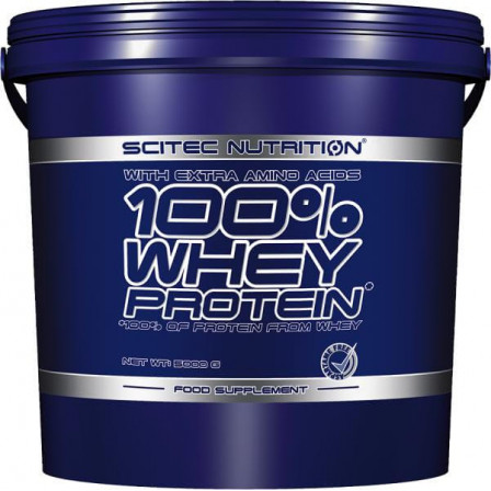 Scitec Nutrition 100% Whey Protein 5000 gr.