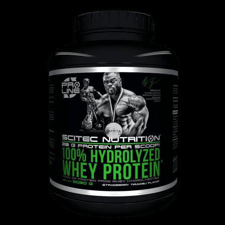 Scitec Nutrition 100% Hydrolyzed Whey Protein 2030 gr.