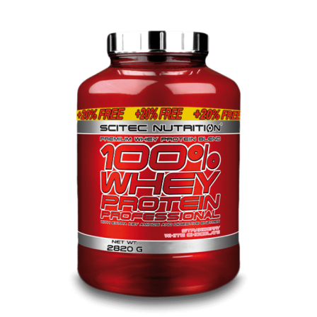 Scitec Nutrition 100% Whey Professional 2820 gr.