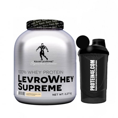 Kevin Levrone Whey Supreme 2270 gr. + Шейкър