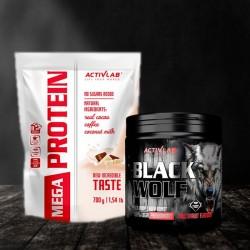 ActivLab Mega PROtein + ActiVlab Black Wolf