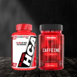 Blade Sport HCA + Prozis Caffeine - Стак за отслабване