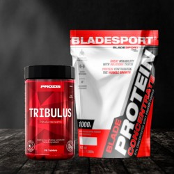 Blade Protein Concentrate + Prozis Tribulus