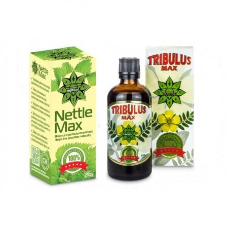 Cvetita Herbal Tribulus Max 100 ml. + Nettle Max 100ml.