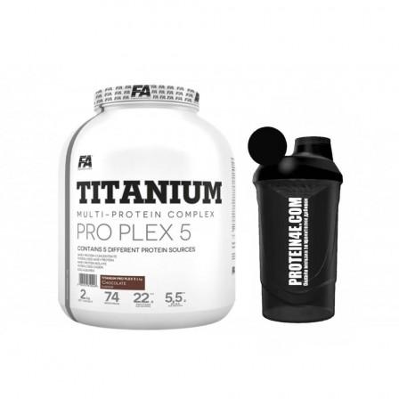 FA Nutrition Titanium Pro Plex 5 2000 gr. + Шейкър