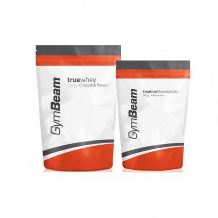 Gym Beam True Whey 1000 gr. + Gym Beam Creatine Monohydrate 500 gr.