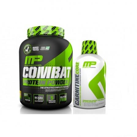 Musclepharm Combat Powder 1814 gr.+ Core Carnitine 473 ml.