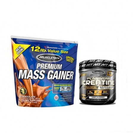 MuscleTech Mass Gainer 5440 gr. + Muscletech Creatine 400 gr.