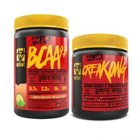 Mutant BCAA 9.7 350 gr. + Mutant Creakong 300 gr.