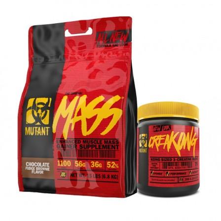 MUTANT Mass 6800 gr. + Mutant Creakong 300 gr.