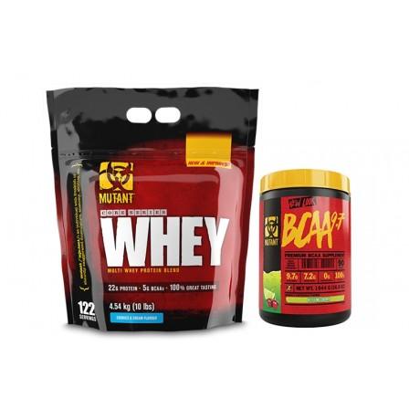 Mutant Whey 4540 gr. + Mutant BCAA 9.7 350 gr.