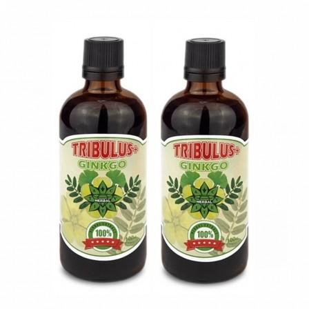 Cvetita Herbal Tribulus + Ginko 100 ml. 2 броя