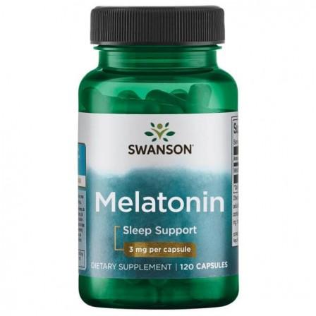 Swanson Melatonin 3 mg 120 caps.