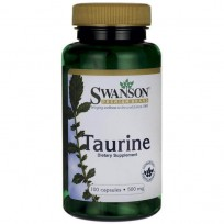 Swanson Taurine 500 mg 100 caps.
