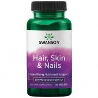 Swanson Hair, Skin & Nails 60 tab.