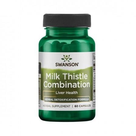 Swanson Milk Thistle Combination 60 caps.