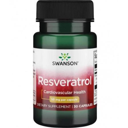 Swanson Resveratrol 50 mg. 30 caps.