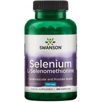 Swanson Selenium L-Selenomethionine 100mcg 300 caps.