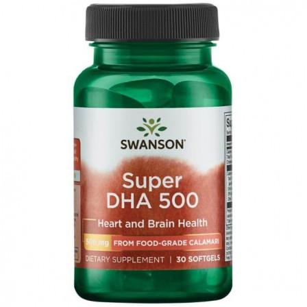 Swanson Super DHA 500 30 caps.