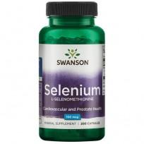 Swanson Selenium L-Selenomethionine 100mcg 200 caps.