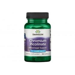 Swanson Chromium Picolinate 200mcg 100 caps.