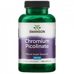 Swanson Chromium Picolinate 200mcg 200 caps.