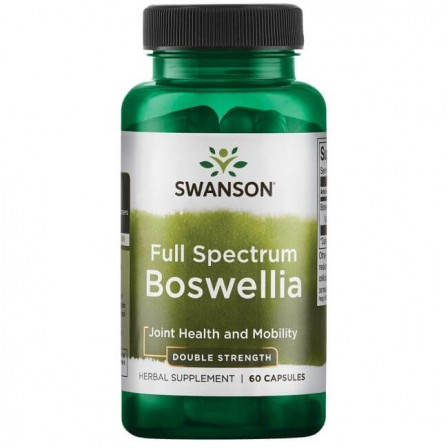 Swanson Full Spectrum Boswellia Double Strength 60 caps.