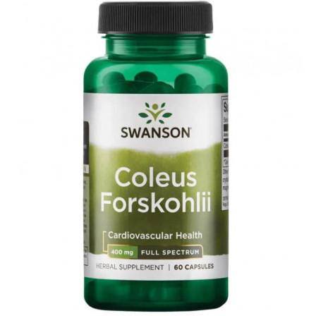 Swanosn Full Spectrum Coleus Forskohlii 60 caps.