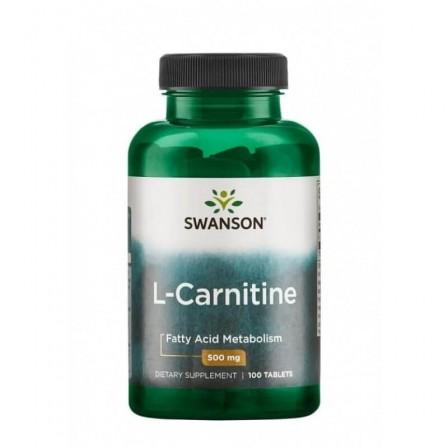 Swanson L-Carnitine 100 tabs.