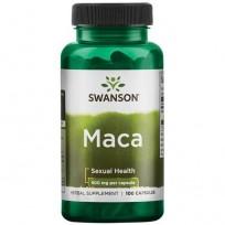 Swanson Maca 500 mg. 100 caps.