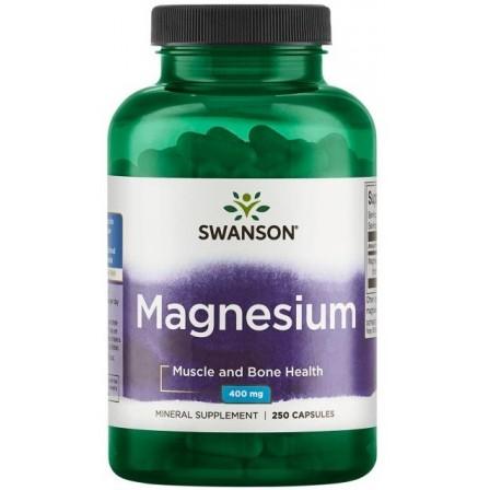 Swanson Magnesium 400mg 250 caps.