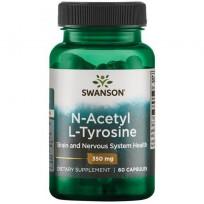 Swanson N-Acetyl L-Tyrosine 350mg 60 caps.
