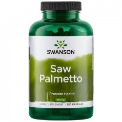 Swanson Saw Palmetto 540 mg. 250 caps.