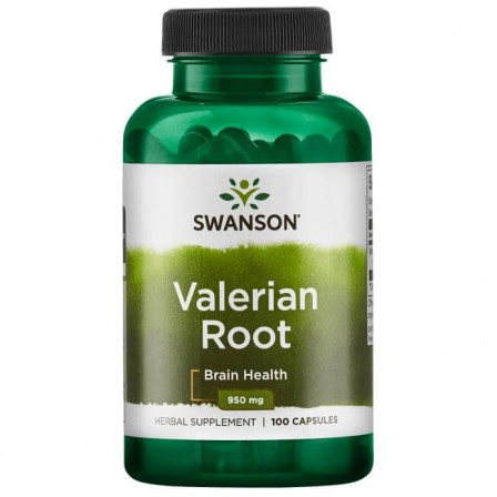 Swanson Valerian Root 100 caps.