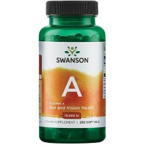 Swanson Vitamin A 10000 IU 250 softgels