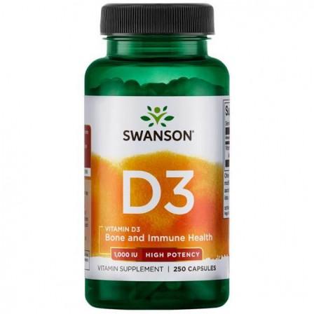 Swanson Vitamin D3 1000IU 250 caps.