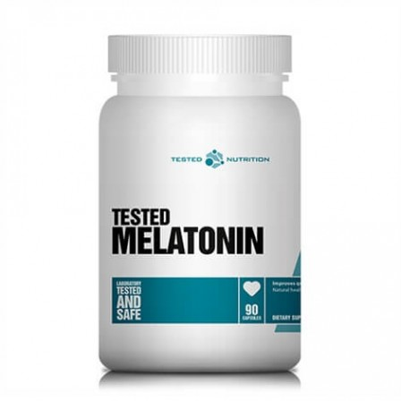 Tested Nutrition Tested Melatonin 90 caps.