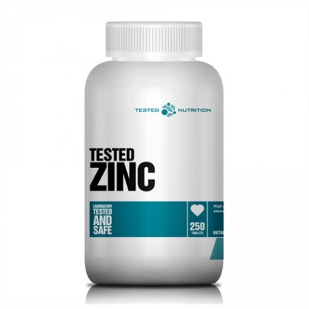 Tested Nutrition Zinc 250 tabs.