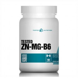 Tested Nutrition Zn-Mg-B6 90 caps.
