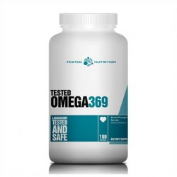 Tested Nutrition Omega 3-6-9 180 caps.
