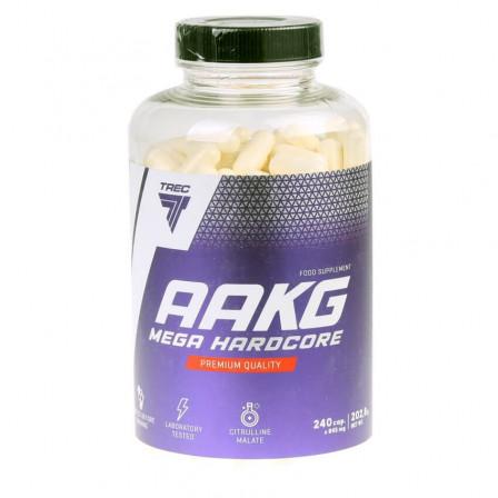 Trec Nutrition AAKG Mega Hardcore 240 caps.