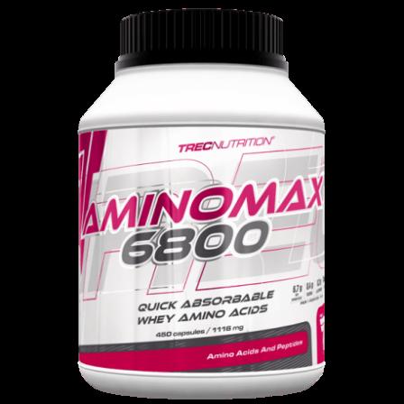 Trec Nutrition Amino Max 6800 450 caps.