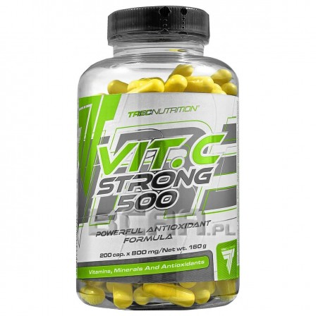 Trec Nutrition Vitamin C Strong 500 200 caps.